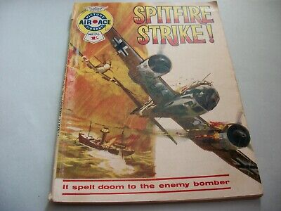 1964  Air Ace Picture Library comic no. 196