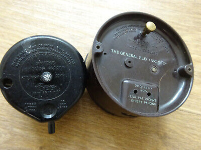 Vintage clock parts - Smiths English Clocks & General Electric Co. Ltd Sec