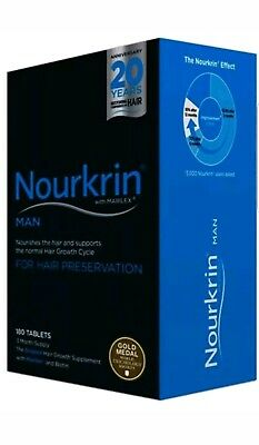 Nourkrin Man 180 Tablets 3 Months Supply Brand New Long Expiry Date New Pack