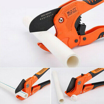 Ratchet Metal Sheet PVC Pipe Cutter Hose Pliers Tube Scissors Hand Tools