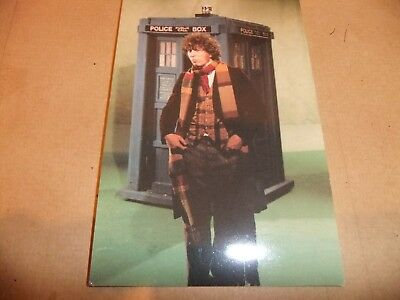 CLASSIC FOURTH DOCTOR WHO POSTCARD TOM BAKER TARDIS DR PERTWEE HARTNELL McCOY