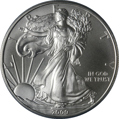 2009-P Silver American Eagle $1 ANACS MS70 First Day Issue Grey Label