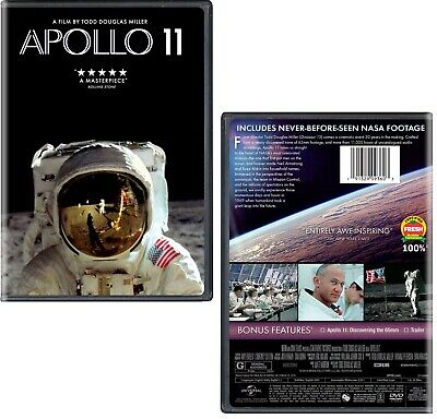APOLLO 11 (2019): Documentary, History, Moon Landing, NASA - NEW Rg1 DVD