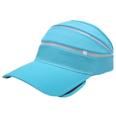 Causal Men Women Sun Visor Plain Hat Adjustable Sports Golf Tennis Beach Cap
