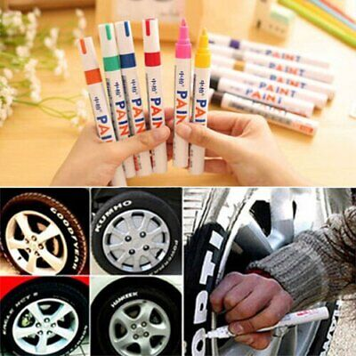 Waterproof Permanent Paint Marker Pen Car Tire Lettering Rubber Letter Universal