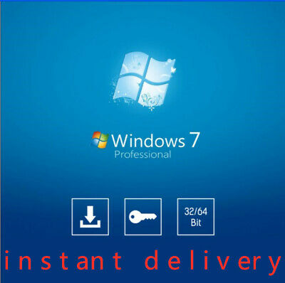 Windows 7 Pro Product Key for Activation [32/64 bit] - Instant Delivery+download