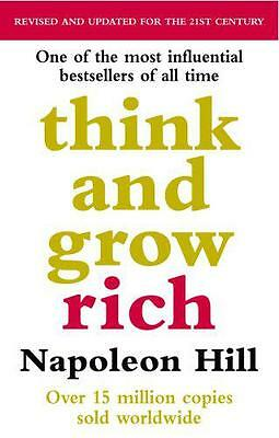 Think And Grow Rich by Napoleon Hill, NEW Book, FREE & , (Paperback