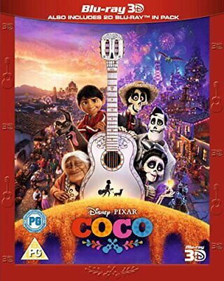 Coco [Blu-ray 3D + Blu-ray] [2017] [2018] [Region Free] -  CD 5YVG The Fast Free