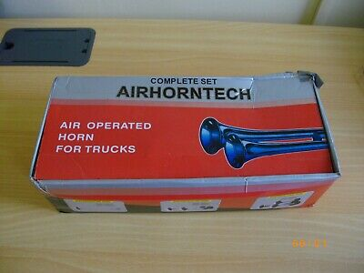 Quality Air Horn Tech Complete Set Boxed New For Trucks Car Etc Free Postage!