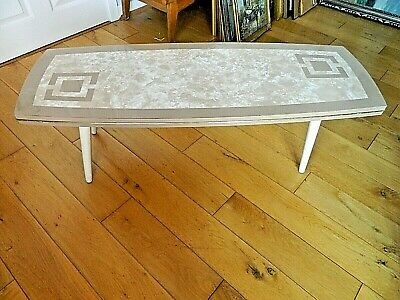 Lovely Retro 60's Mid 20thc Century Coffee Occasional Table Unusual!