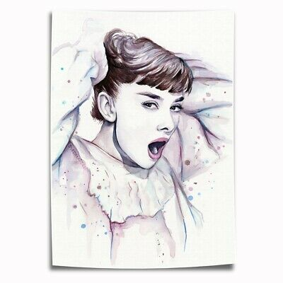 Audrey Hepburn HD Canvas prints Painting Home print decor Picture Wall Poster