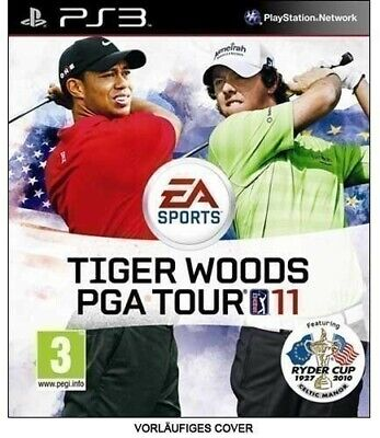 PS3 / Sony Playstation 3 game - Tiger Woods PGA Tour 11 EN/GER boxed