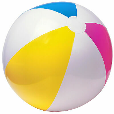 "Large Intex 24"" Inflatable beach ball NEW design Jumbo ball - 61cm"