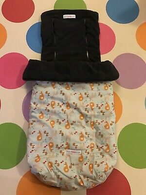 Mini Happy Me Universal Pram liners + footmuff