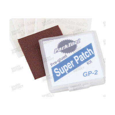 Kit 6 Pezze Autoadesive Park Tool Gp-2 Patch Self Adhesive Kit Bici Bike Mtb Roa