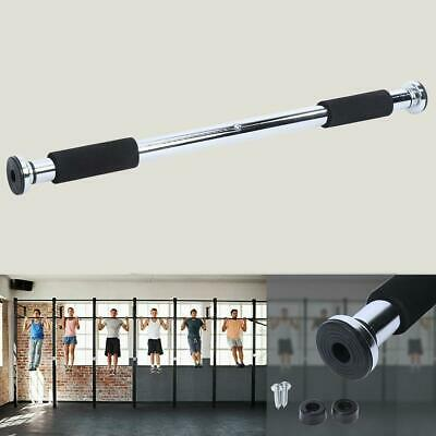 Pull Up Bar Training Home Gym Adjustable Exercise Workout Chin Up Sport Fitness