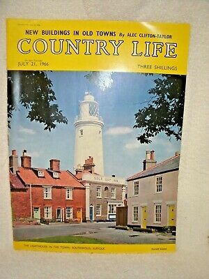 COUNTRY LIFE MAGAZINE (UK Issue) July 21-1966-- Three Shillings--Original