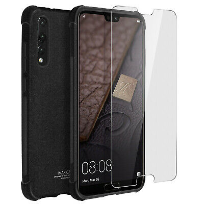 iMak full cover, hardcase for Huawei P20 Pro + hydrogel screen protector - Black