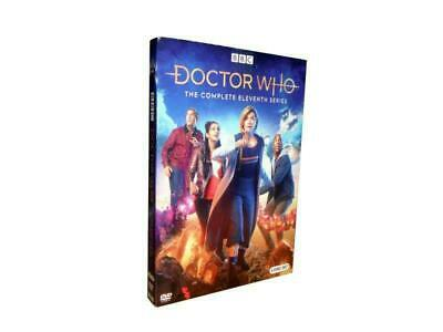 Doctor Who: The Complete Eleventh Season 11 (DVD, 2019, 3-Disc Set)