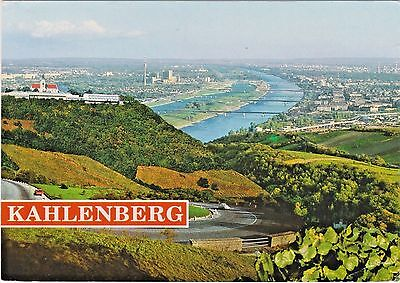 Vienna, Austria and Kahlenberg Heights Road along the Danube River in 1990's