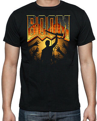 badhabitmerch New Ash Williams Evil Dead 2 Big Print Horror Movie Shirt S-2XL