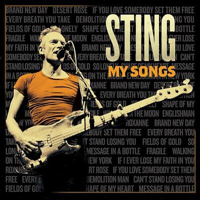 STING My Songs CD French Edition (4 Extra Tracks+1 Exclusive Track) NEW .cp