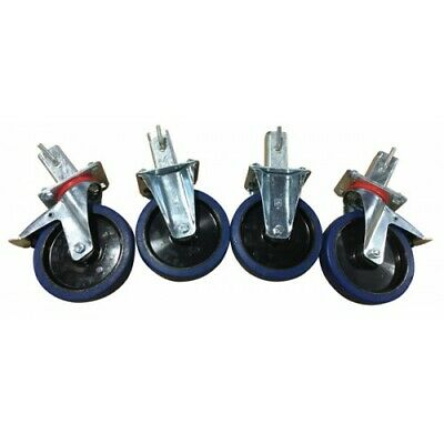 Conversion Kit for Weha Transport A-Frame Carts - Wheel Casters for Weha