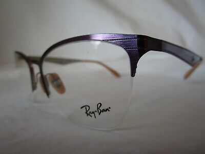 8705638d20be6 RAY-BAN GLASSES FRAMES RX 6345 2864 Top Brushed Violet On Silver ...