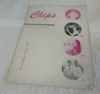 Amazing Spring 1950 Wright College in Chicago 'Chips' School Magazine