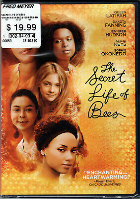 THE SECRET LIFE OF BEES Movie on a DVD with QUEEN LATIFAH and DAKOTA FANNING New