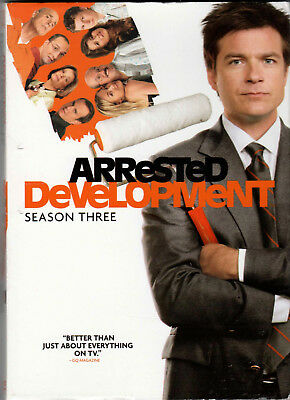 ARRESTED DEVELOPMENT The COMPLETE THIRD SEASON 3 on DVD of a TV SHOW Series LAST