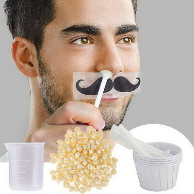 Nose Hair Removal Wax Kit Nasal Ear Hairs Painless Effective Safe Quick Beads UK