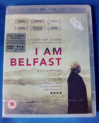 I Am Belfast (2015) * Dual Format Edition Dvd + Blu Ray * New Sealed * Free P&p
