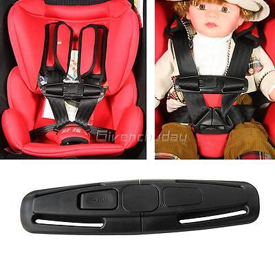 2-4 Baby Car Safety Seat Strap Child Toddler Chest Harness Clip Safe Buckle FAM