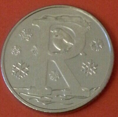 NEW A-Z 2019 ALPHABET 10p COIN HUNT- LETTER R - ROBIN  UNCIRCULATED