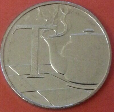 NEW A-Z 2019 ALPHABET 10p COIN HUNT- LETTER T - TEAPOT  UNCIRCULATED
