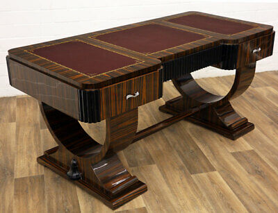 ART DECO WRITING DESK, LUXUS SCHREIBTISCH MÖBEL, Ruhlmann BUREAU DESIGN TABLE