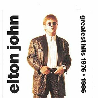 (CD) Elton John - Greatest Hits 1976 - 1986 [1992, Island]