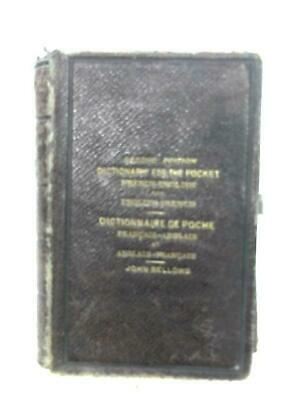 Dictionary For The Pocket: French-English & (John Bellows - 1877) (ID:48102)