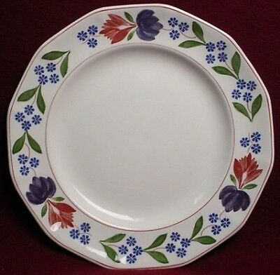 "Wm Adams England OLD COLONIAL 8"" Salad Plate - Black Backstamp (loc-15A)"