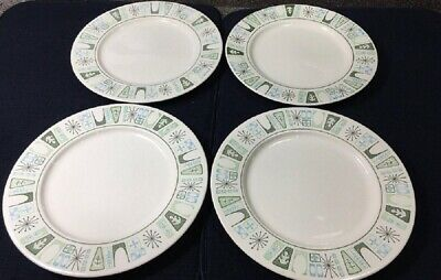 4 Taylor Smith Taylor China CATHAY Bread Butter Plates_Set of FOUR   (sau66)