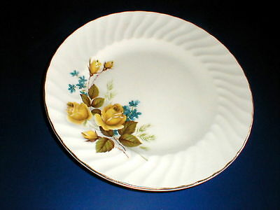 2 Ridgway Staffordshire FAVOURITE ROSE Dinner Plates_Set of TWO