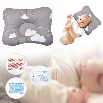 Baby Memory Pillow Newborn Foam Positioner Prevent Flat Head Anti Roll Infant