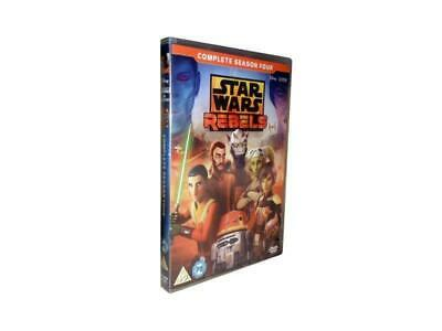 Star Wars Rebels: The Complete Fourth Season 4 (DVD, 2018, 3-Disc Set)