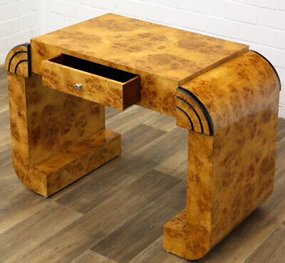 ART DECO SIDE TABLE with DRAWER, Ladies DESK, SCHUBLADENTISCH, KONSOLE