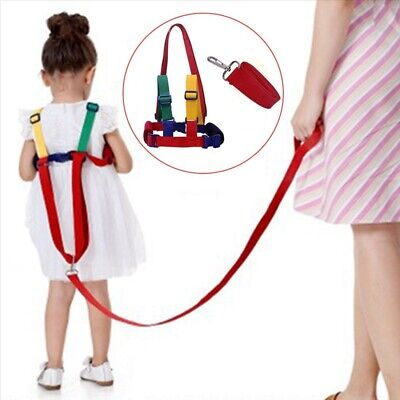 Toddler Kids Baby Safety Harness Belt Walking Strap Keeper Anti Lost Line New UK