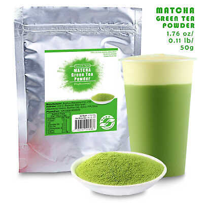 1pc 50g China 100% Pure Organic Natural Matcha Green Tea Powder bag