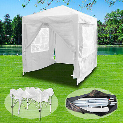 2x2m Waterproof Outdoor Pop Up Gazebo Marquee Canopy Garden Party Wedding Tent