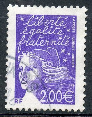 TIMBRE FRANCE OBLITERE N° 3457 TYPE MARIANNE / Photo non contractuelle