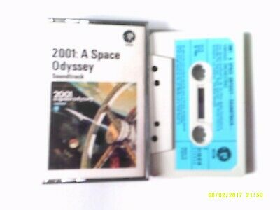 2001 A Space Odyssey 1968 Blue paper Label  EX